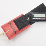 Altimeter Protector, open for setting altimeter.